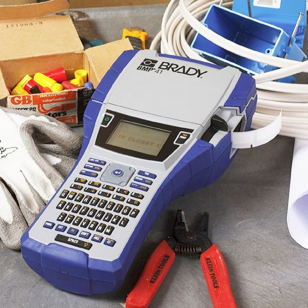 It's just a graphic of Exceptional Brady Handimark Portable Label Maker Load New Supply